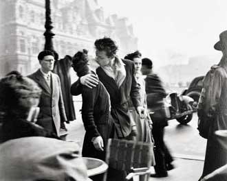 """Le Baiser de l'Hôtel de Ville"""", Paris 1950"""